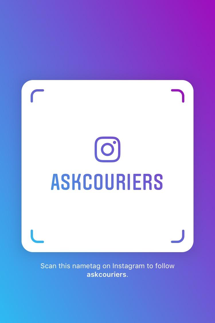 @askcouriers Instagram