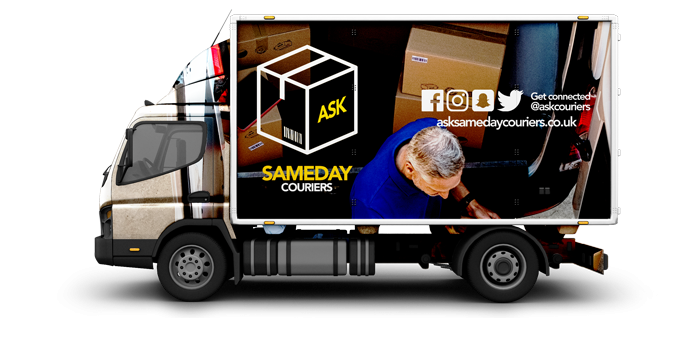 Luton Vans - ASK Sameday Couriers
