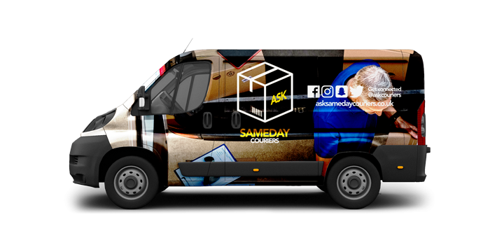 Short Wheel Vans - ASK Sameday Couriers
