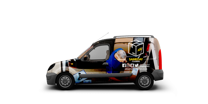 Small Vans - ASK Sameday Couriers